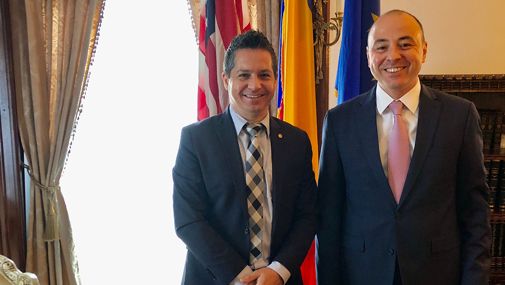 Romanians of DC Extends a Warm Welcome to the New Romanian Ambassador to the U.S.